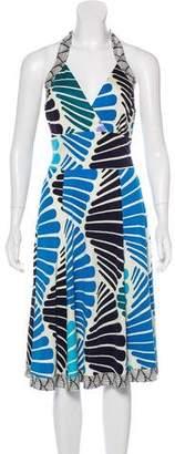 Issa Silk Jersey Midi Dress