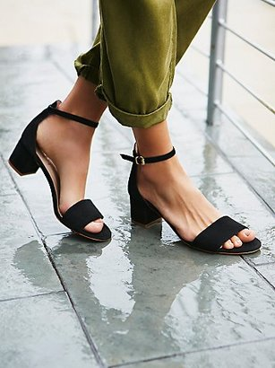 Marigold Block Heel by Free People $128 thestylecure.com
