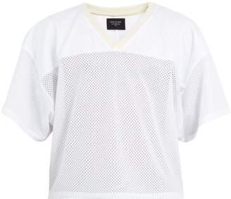 Fear Of God V-neck mesh-jersey T-shirt