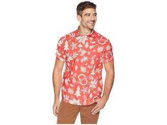 Tommy Bahama Deck the Halls Shirt Men's Short Sleeve Button Up