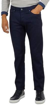 Ted Baker Shandal Printed Hem Denim Trousers