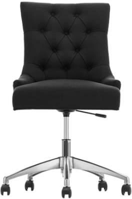 Flynn Office Chair, Midnight Black