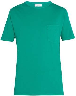 Officine Generale Crew-neck cotton T-shirt