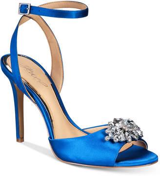 Badgley Mischka Hayden Embellished Sandals