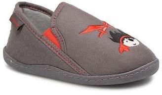 Isotoner Kids's Mocassin Suédine E Slippers in Grey
