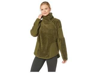 Nike Long Sleeve Pullover Sherpa Top
