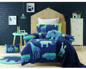 Animal Patch Bed Quilt Cover Set