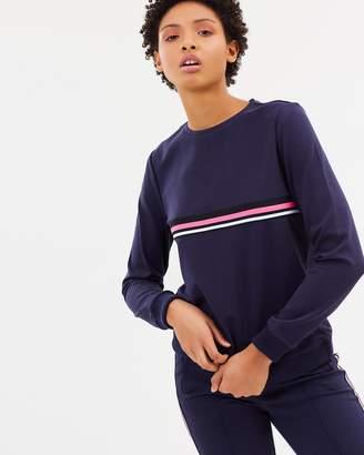 Vero Moda Nova Stripe LS Sweatshirt