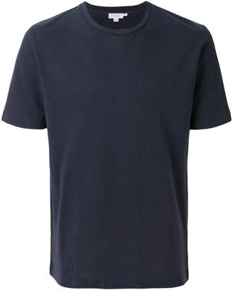 Sunspel textured crew neck T-shirt
