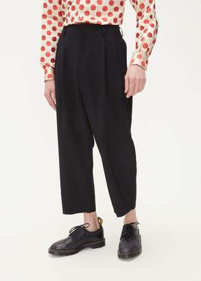 Comme des Garcons Wool Pleated Trouser