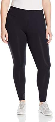 Basix II Rainbeau Curves Women's Plus-Size Premier Nylon-Blend Legging