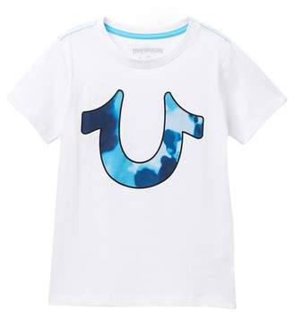 True Religion Tie Dye Horse Shoe Tee (Toddler & Little Boys)
