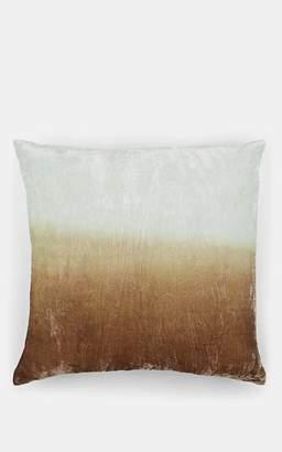 Kevin OBrien Kevin O'Brien Dip-Dyed Silk-Blend Velvet Pillow