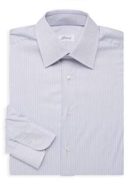 Brioni Varigated Stripe Dress Shirt