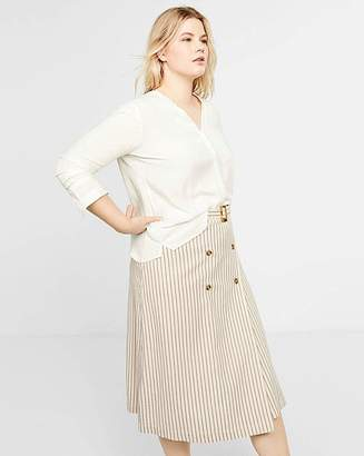 Violeta BY MANGO Ps4 Aline Midi Skirt