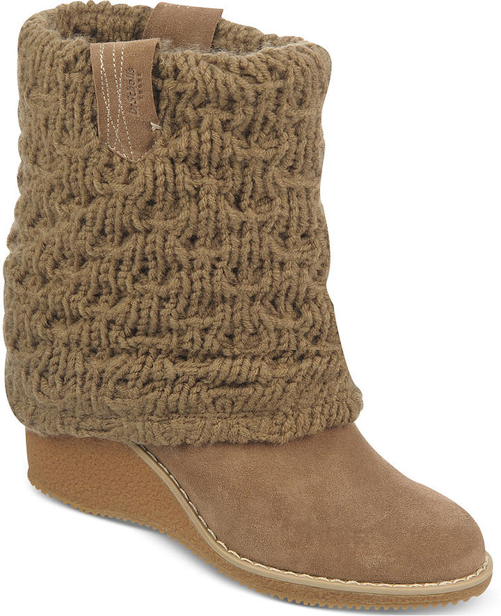 dr scholl s s catrina wedge boots sold out