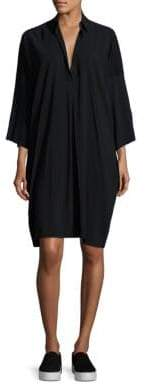 Vince Collared Shift Dress