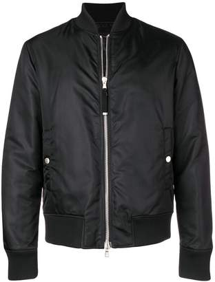 Diesel Black Gold branded bomber jacket