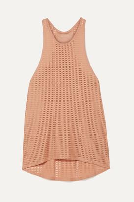 Olympia Activewear - Arete Mesh Tank - Blush