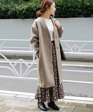 Journal Standard (ジャーナル スタンダード) - JOURNAL STANDARD relume LANA WOOL 140 ノーカラーコート◆