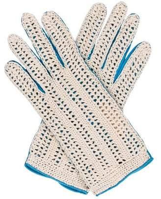 Lambertson Truex Leather Wrist Gloves