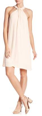 1 STATE 1.State Halter Neck Shift Dress
