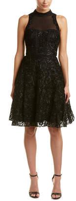 Karen Millen Ultimate Tutu Silk-Trim A-Line Dress