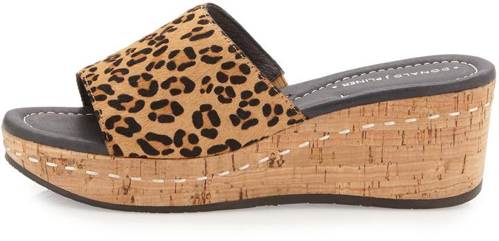 Donald J Pliner Safari Slip-On, Leopard