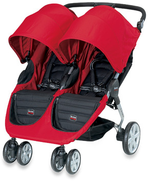 Britax B-Agile Double Stroller & Accessories