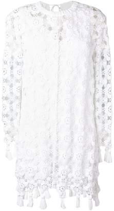 Chloé crochet-lace dress