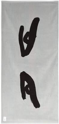 Reigning Champ District Vision x Retreat eye-print towel