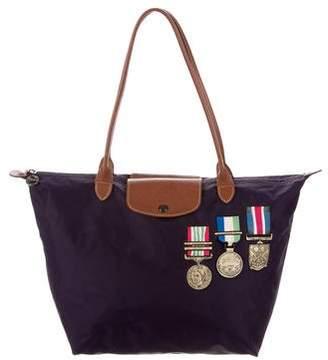 Longchamp Embellished Tote Bag