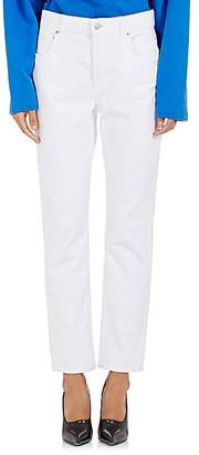 Balenciaga WOMEN'S STRAIGHT CROP JEANS