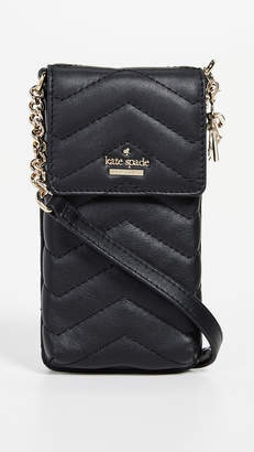 Kate Spade Quilted Phone Cross Body Bag