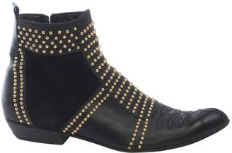 Anine Bing Leather western boots