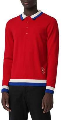 Burberry Men's Brandon Polo Sweater