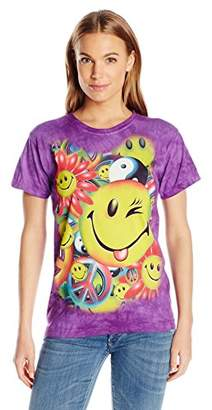 The Mountain Junior's Peace and Happiness Graphic T-Shirt,Medium