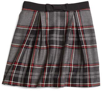 Brooks Brothers Girls Wool Tartan Skirt