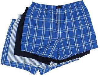 Jockey Active Blend Woven Boxer 4-Pack Men's Underwear