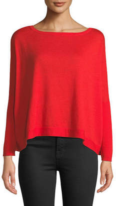 Diane von Furstenberg Taylin Boat-Neck Wool Sweater