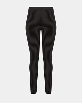 Theory Pinstripe Perform Tech High-Waisted Legging