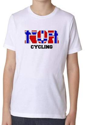 Hollywood Thread Norway Cycling - Olympic Games - Rio - Flag Boy's Cotton Youth T-Shirt