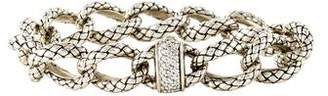Scott Kay Diamond Chain-Link Bracelet