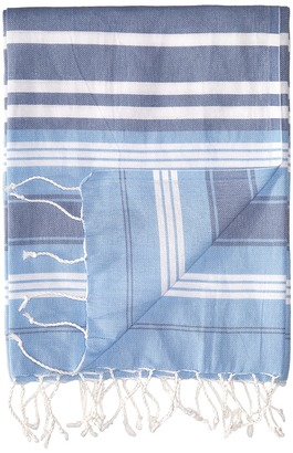 Hat Attack - Beach Throws Multi Stripe Scarves $45 thestylecure.com