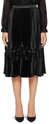 Ted Baker Crimsan ZigZag Pleated Skirt
