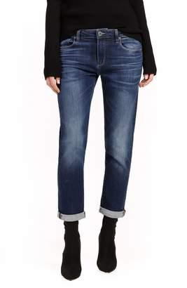 Paige Brigitte Transcend Vintage High Waist Crop Boyfriend Jeans