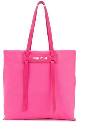 Miu Miu long handle shopper