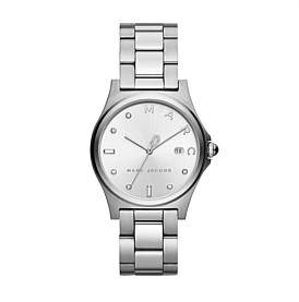 Marc by Marc Jacobs Henry Silver-Tone Watch