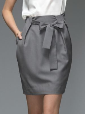 Collection Woven Paper Bag Skirt