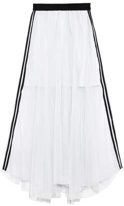 Snidel (スナイデル) - スナイデル シャイニーラインスカート